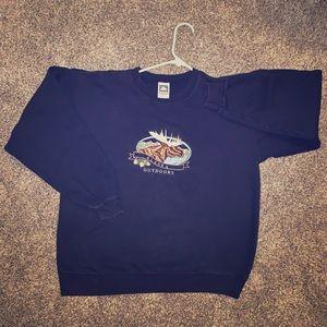 Vintage embroidered sweatshirt